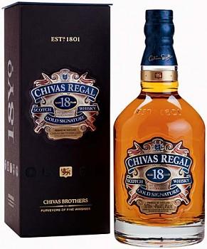 CHIVAS REGAL 18Y 0,7l 40% obj.