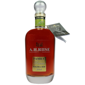 A.H. RIISE FAMILY RESERVE 0,7l 42% obj.
