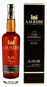 A.H. RIISE XO 175Y ANNIVERSARY 0,7l42%ob