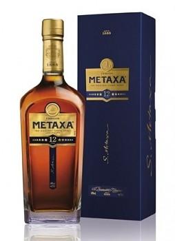 METAXA 12* 0,7l  40% obj.