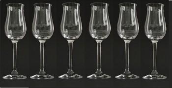 SKLENICKY GLASSES Plantation PACK 6pc