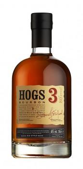 HOGS 3 BOURBON 0,7l 40% obj.