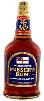 PUSSERS BRITISH NAVY 0,7l 40% obj.