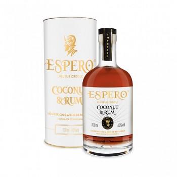 ESPERO COCONUT & CARIBE RUM 0,7l 40%obj.