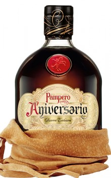 PAMPERO  ANIVERSARIO 0,7l 40% obj. KUZE