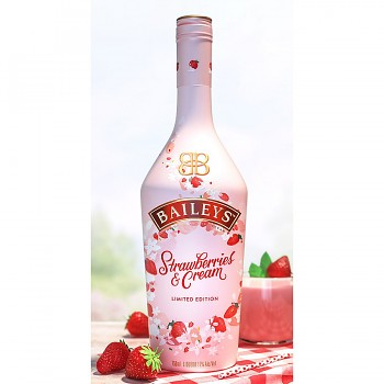 BAILEYS STRAWBERRIES & CREAM 0,7l 17%obj