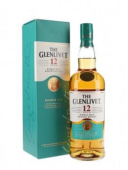 GLENLIVET 12Y DOUBLE AOK 0,7l 40% obj.