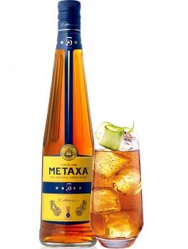 METAXA  5* 0,7l 38% obj + SKLO