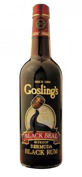 GOSLINGS BLACK SEAL  1l  40% obj.
