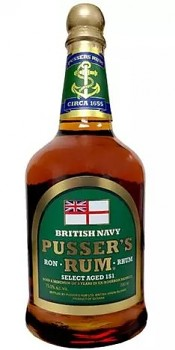 PUSSERS BRITISH NAVY 0,7l 75,5% obj.
