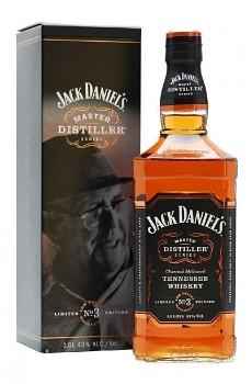 JACK DANIELS MASTER No.3  1l 43% obj L.E