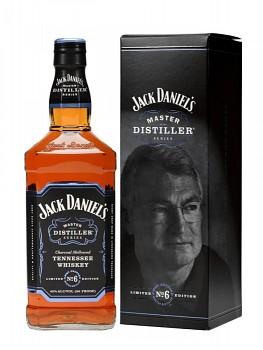 JACK DANIELS MASTER No.6 0,7l 43%obj L.E