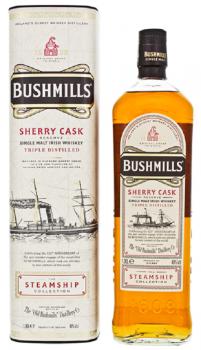 BUSHMILLS STEAMSHIP SHERRY CASK  1l 40%