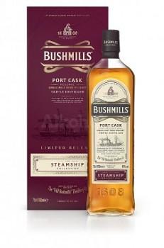 BUSHMILLS STEAMSHIP PORT CASK 0,7l 40%